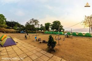 View of camp B
