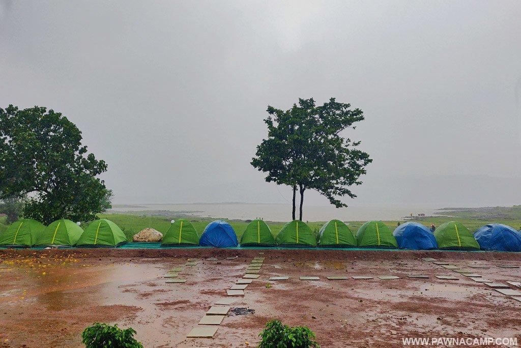 Pawna Lake arial view by ankit bhatia films