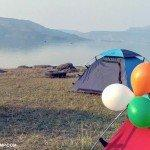Location F -Camping on republic day