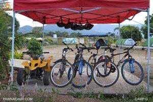 Cycling at Pawnacamp G site