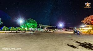 night time at camp G