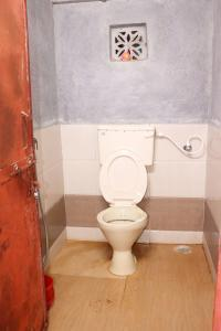 Toilet from inside on camp C