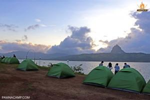 lakeside tents - tung fort view